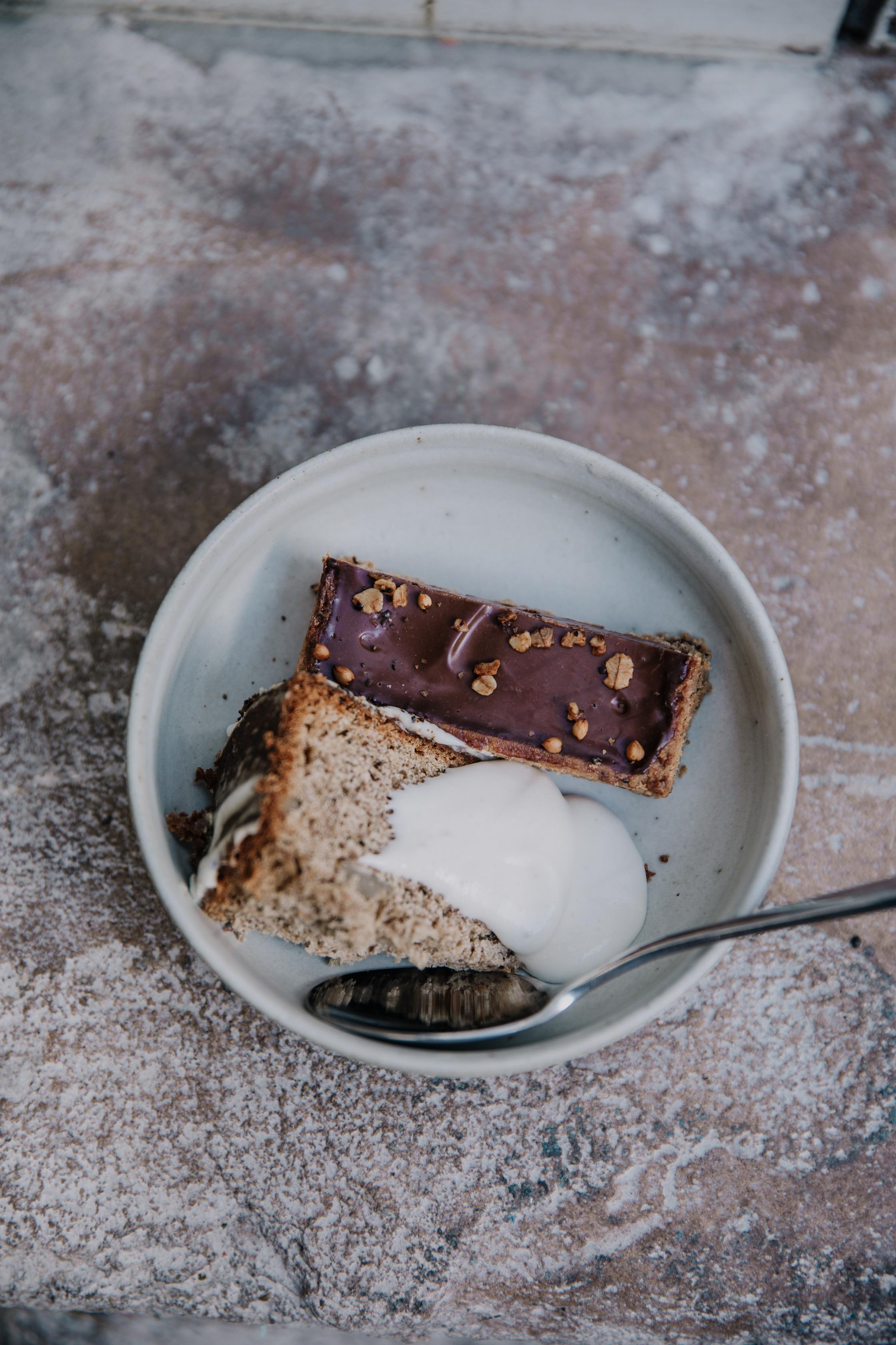 dessert chocolat banane et watleseed