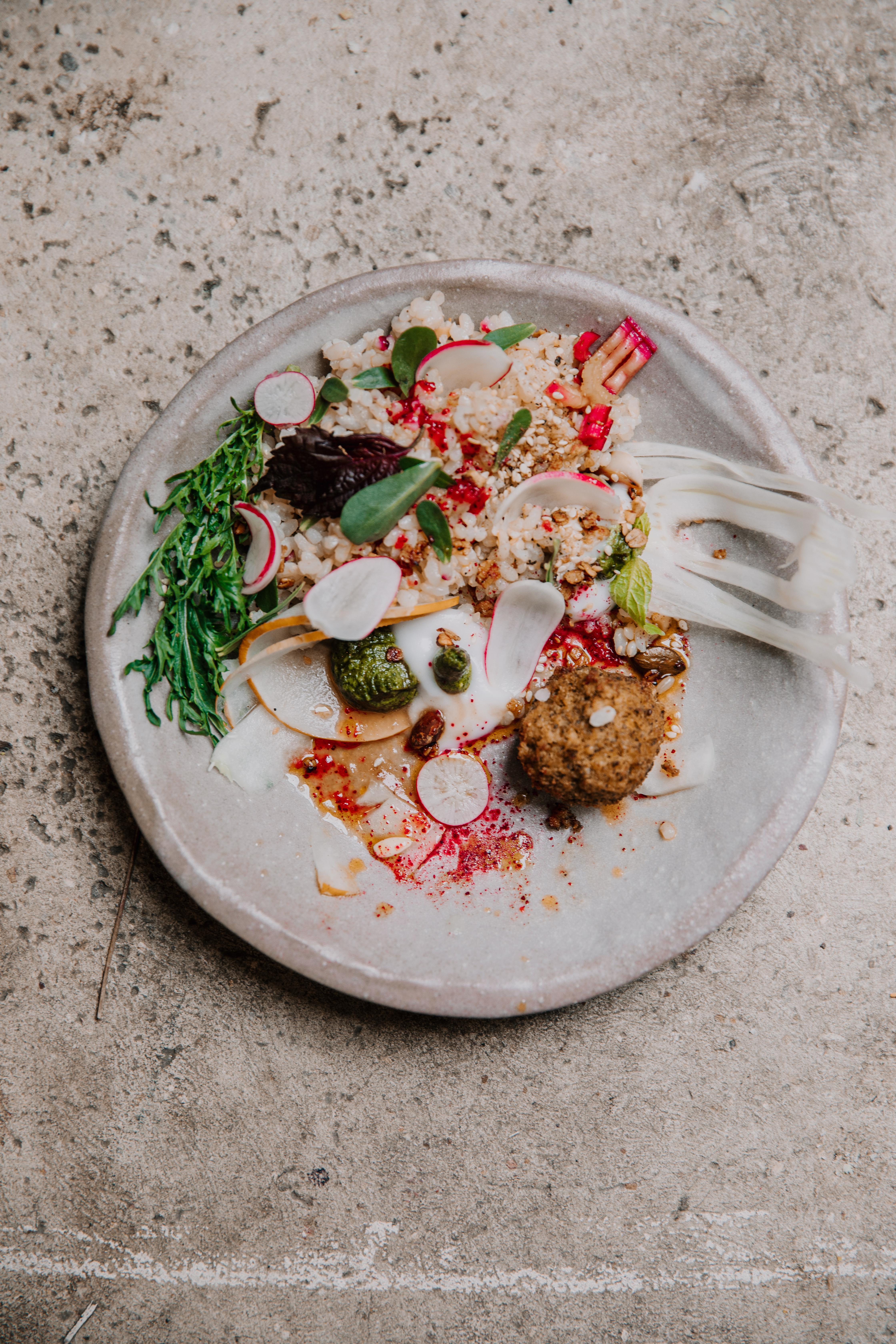 repas pour participantes avec les épices d'australie